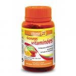 Витамин 22 Желейные мультивитамины / VITAMIN'22 GOMMES VITAMINEES 60 пастилок.