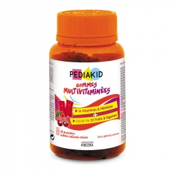 Жевательные мармелад Мультивитамины / Pediakid Gommes Multivitaminées, 60 шт.