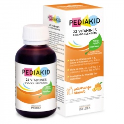 22 Витамина и Олигоэлементы / Pediakid 22 Vitamines  250 мл.